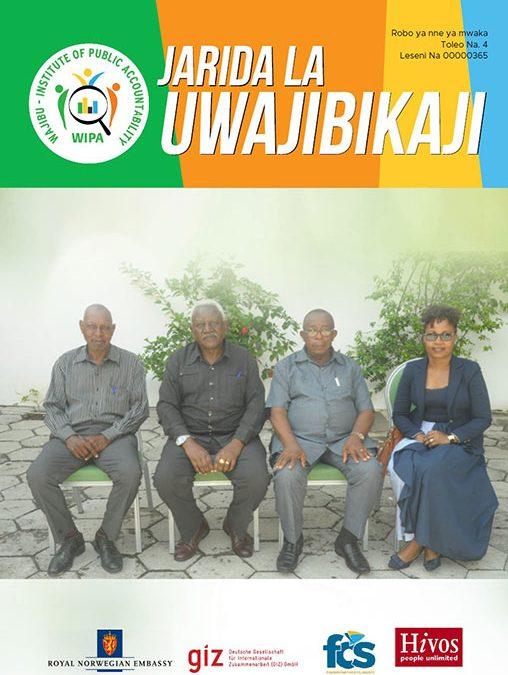 Jarida la Uwajibikaji kwa robo ya nne ya mwaka 2020